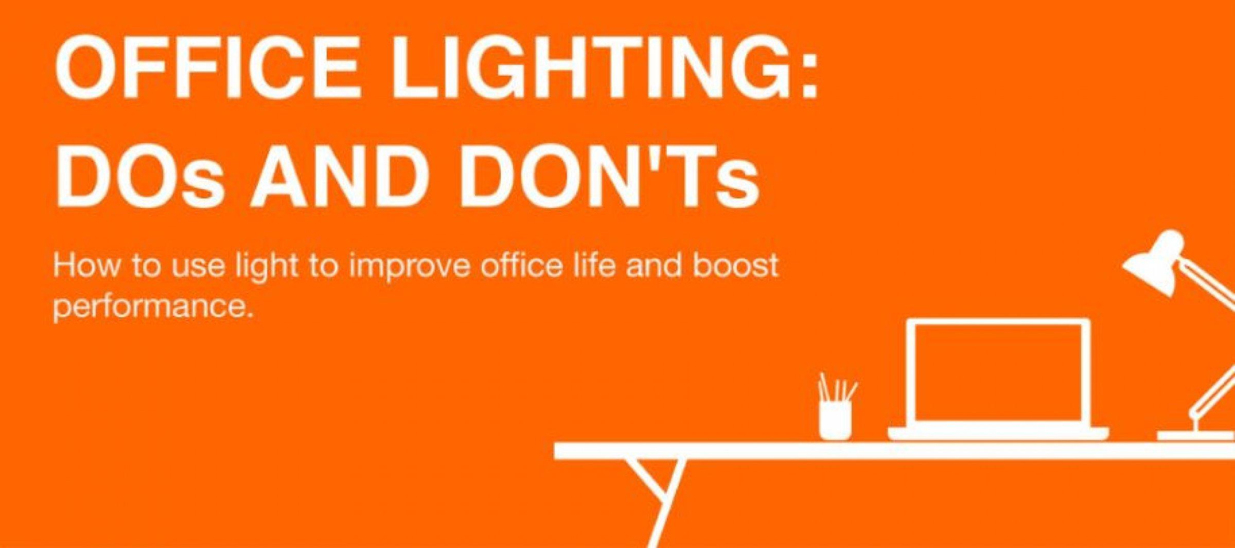 elleve tips: hvordan finder du den rigtige belysning til kontoret
