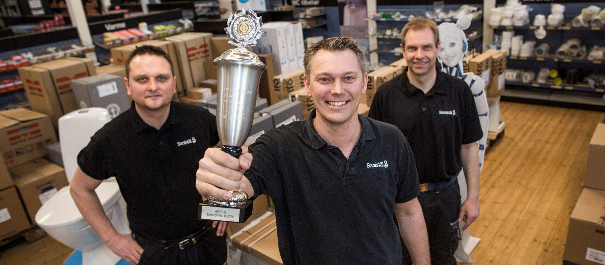 Årets Sanistål butik ligger på Amager | Installatør