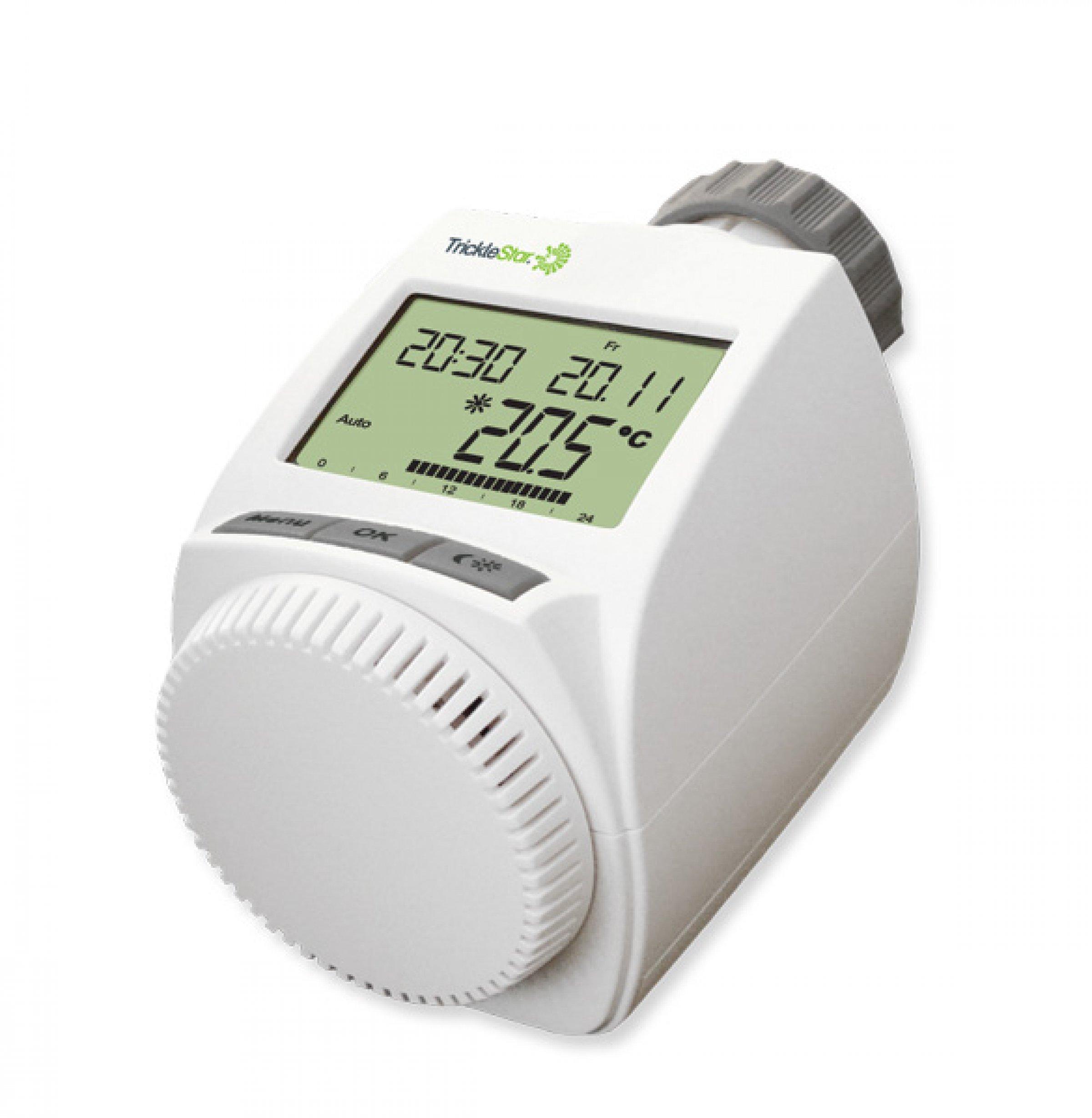 Fremragende Ny termostat fra TrickleStar reducerer varmeforbruget betydeligt BB36