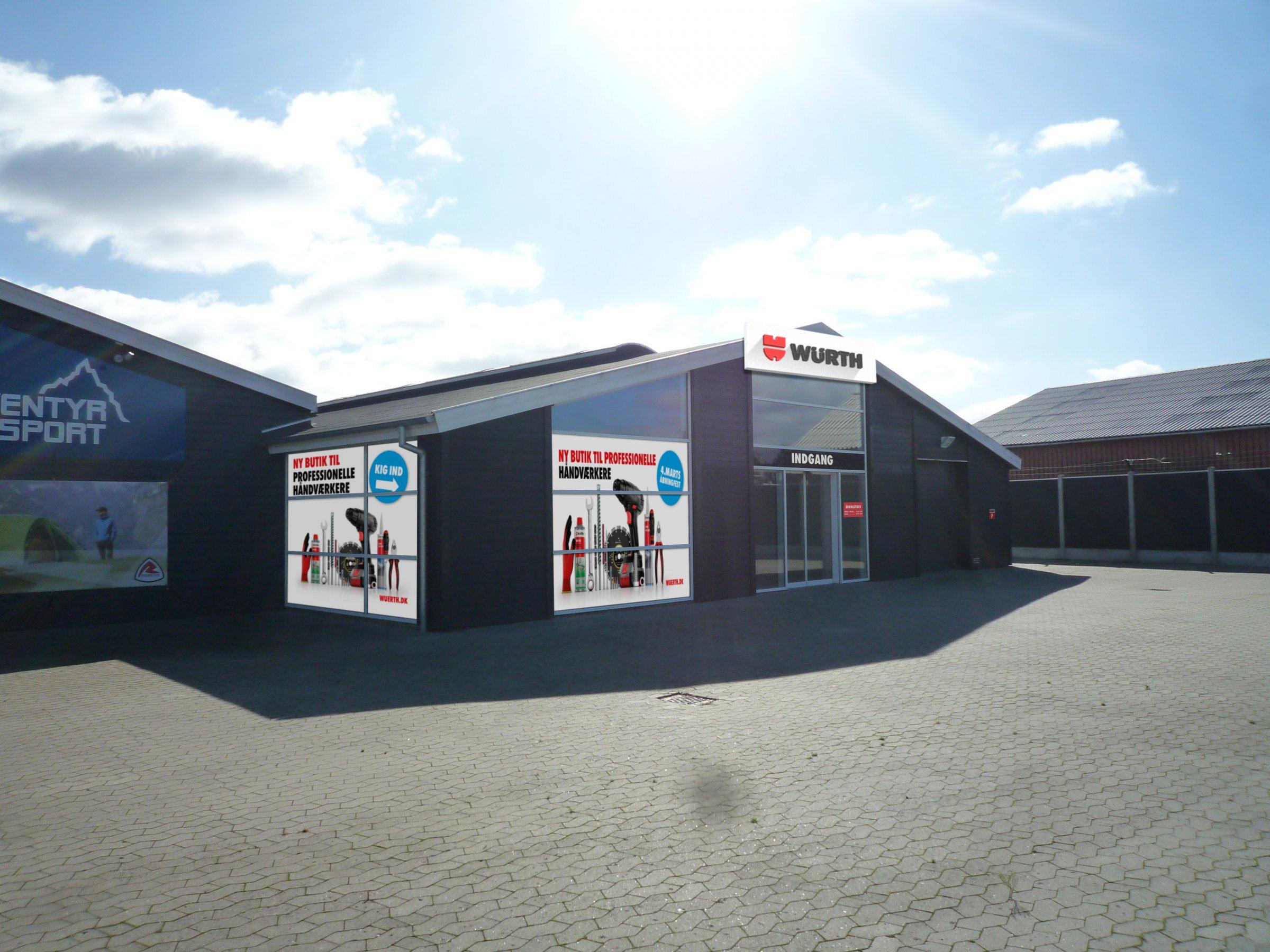 c5954009c822 Den 4. marts åbner Würth ny butik i Silkeborg for erhvervskunder